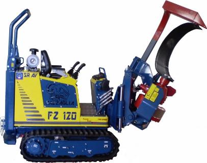 Encepellonadora FZ120-FZ120 PLUS