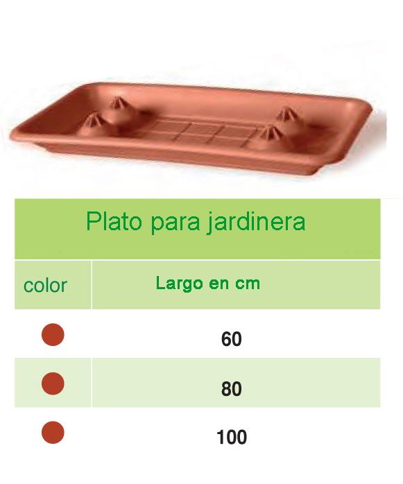 Plato jardinera
