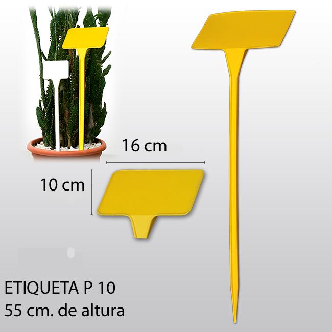 etiqueta para plantar P10