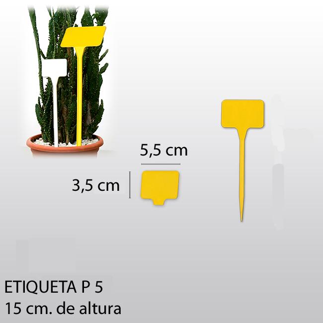 etiqueta para plantar P5