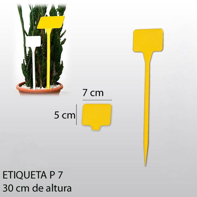 etiqueta plantar P7